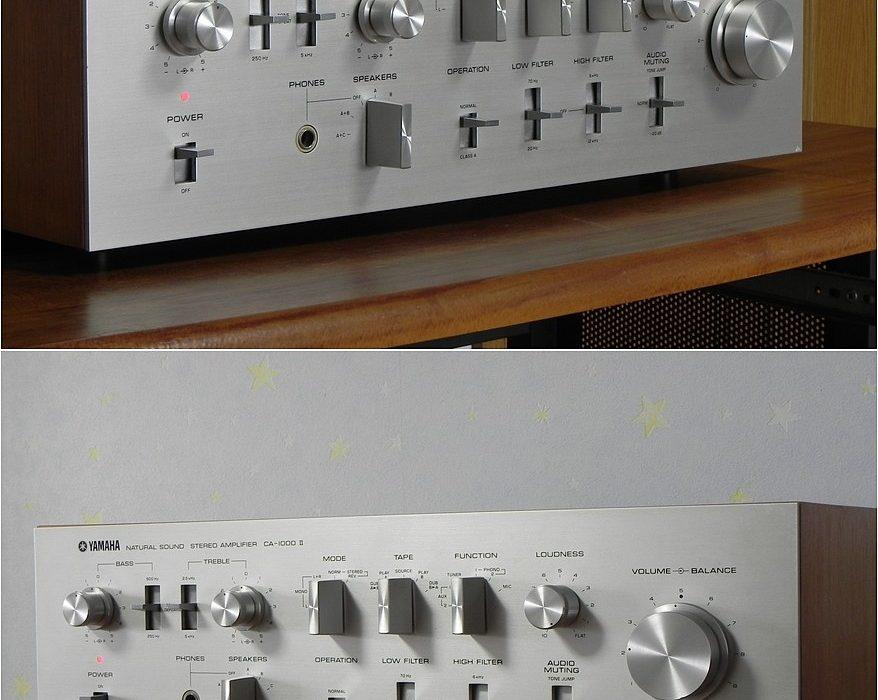 雅马哈 YAMAHA CA-1000Ⅱ 功率放大器