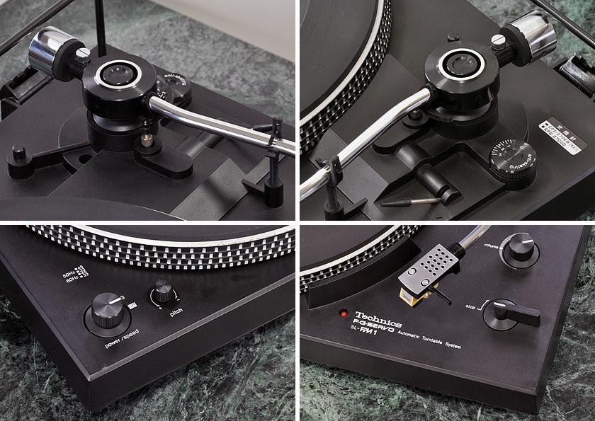 松下 Technics SL-FM1 黑胶唱机