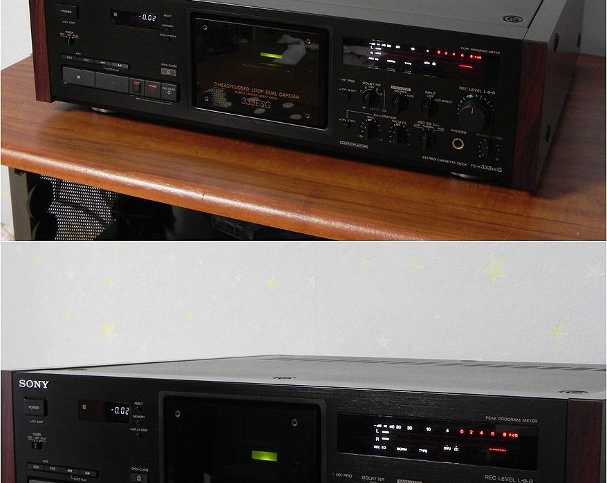 索尼 SONY TC-K333ESG 三磁头卡座