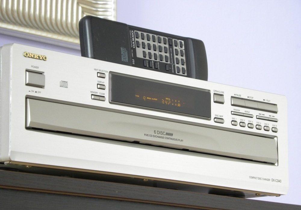 ONKYO DX-C340 6碟连放 CD播放机