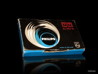 PHILIPS EL 1903-01 The first compact cassette of the World 1963