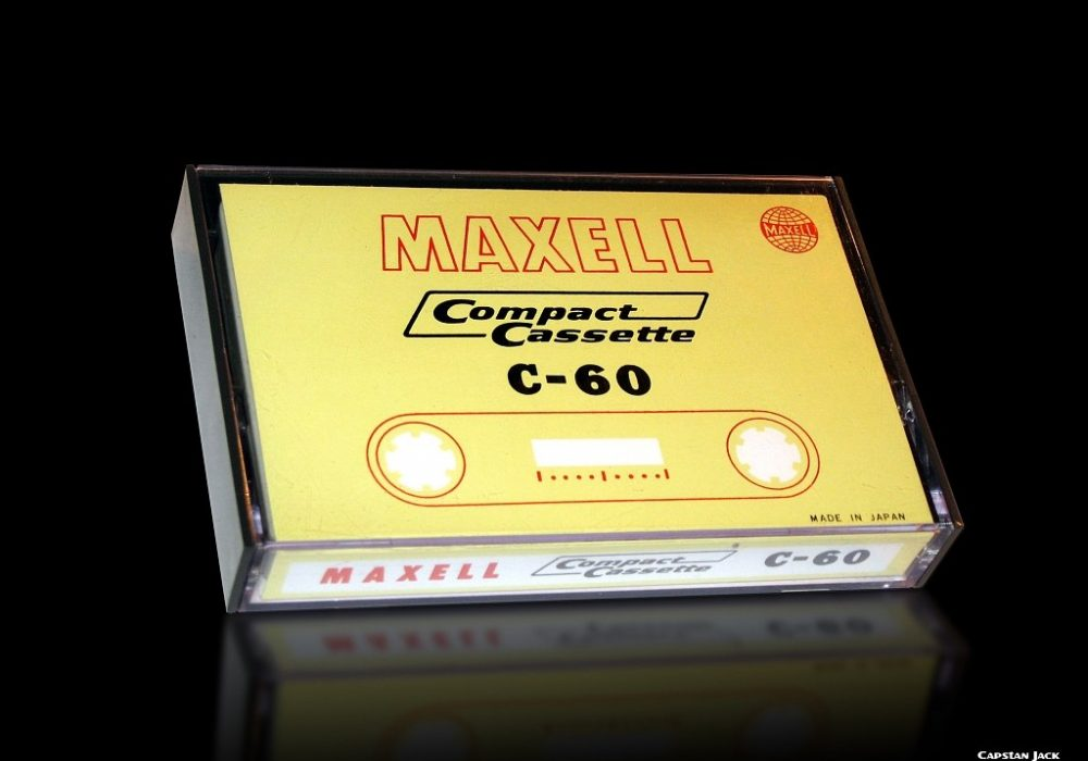 Maxell C-60 1967 (First Maxell compact cassette of the World)