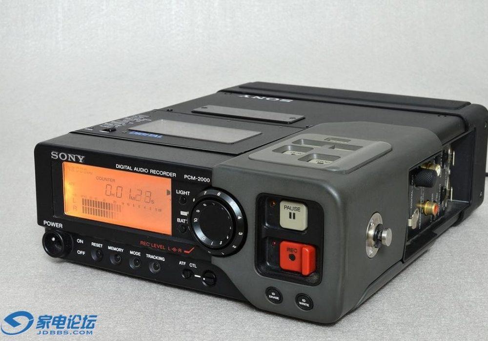 索尼 SONY PCM-2000 便携DAT播放机