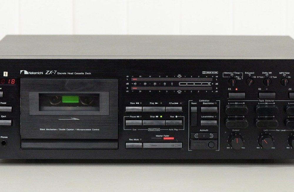 NAKAMICHI ZX-7 卡座