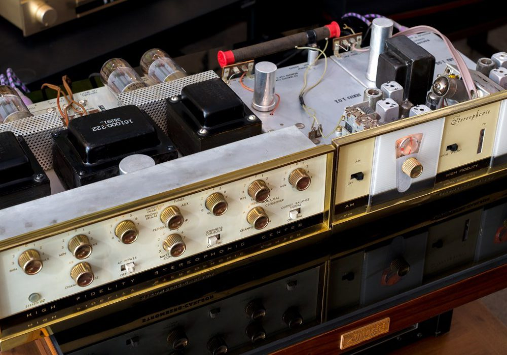 美国 STROMBERG-CARLSON 分体式 电子管收扩机