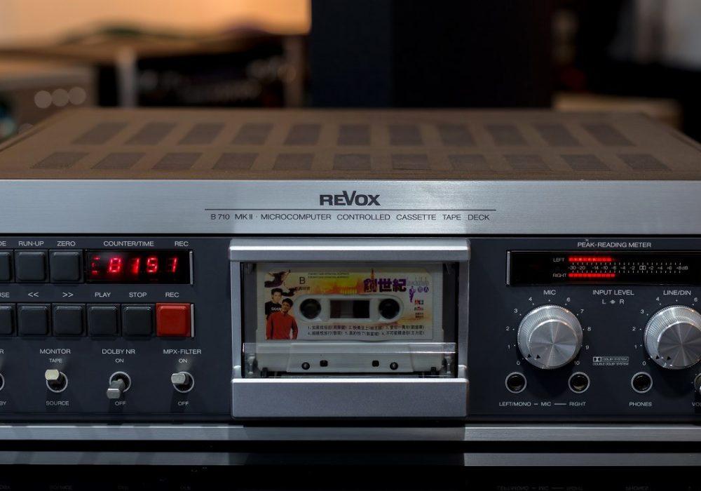 瑞华士 REVOX B710MK2 高级卡座