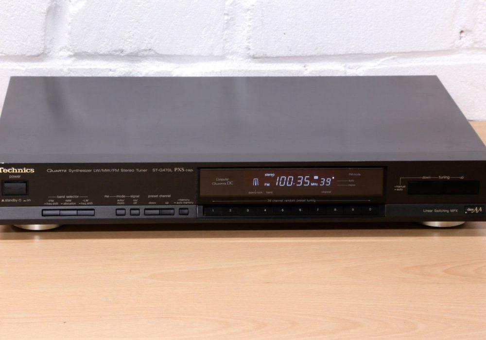 松下 Technics ST-G470L FM/MW/LW HI-FI 立体声收音头