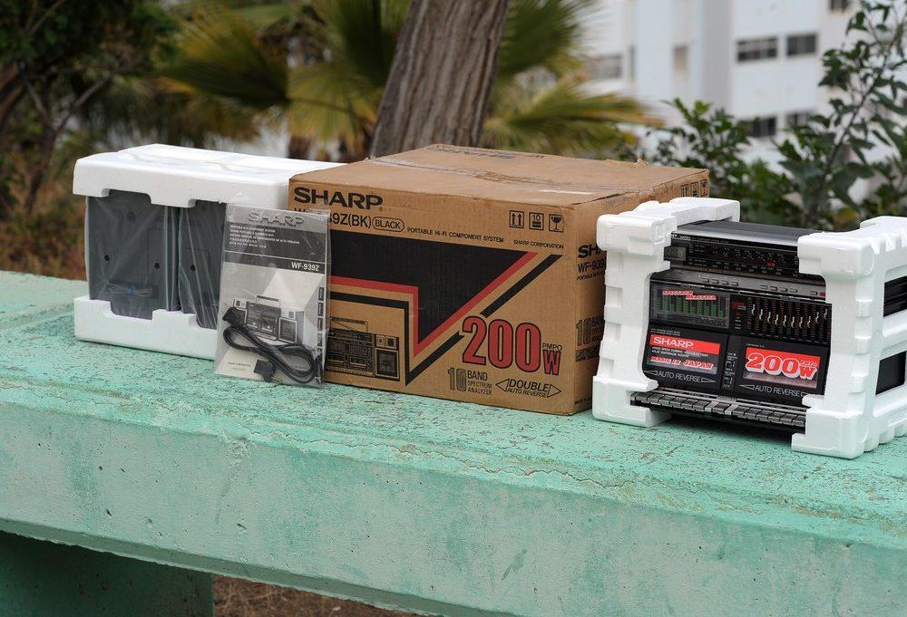 夏普 SHARP WF 939Z 四喇叭单卡收录机