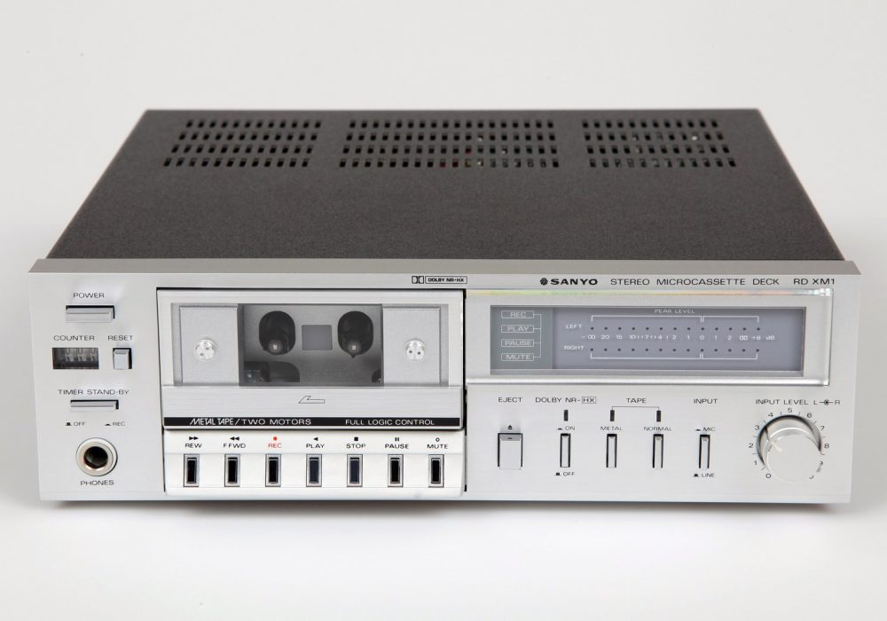 Sanyo RD-XM1 Stereo Microcassette Deck - 1