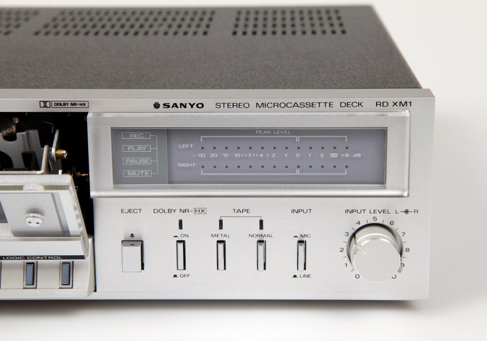 Sanyo RD-XM1 Stereo Microcassette Deck - 4