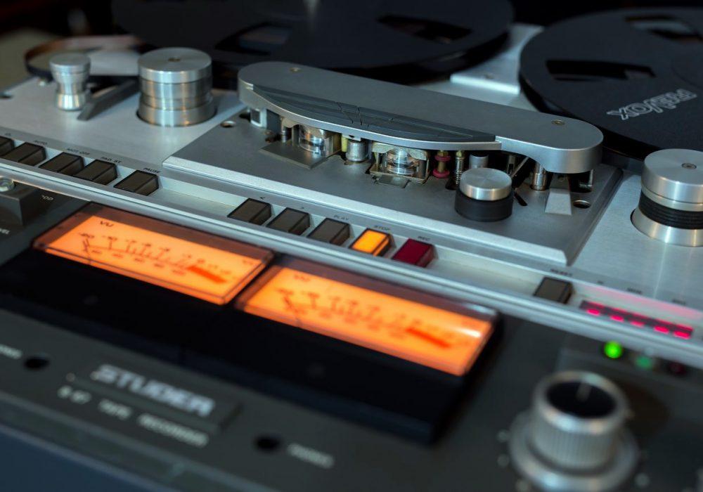 STUDER B67 顶级专业两轨开盘机带表桥 - 广安经典音响