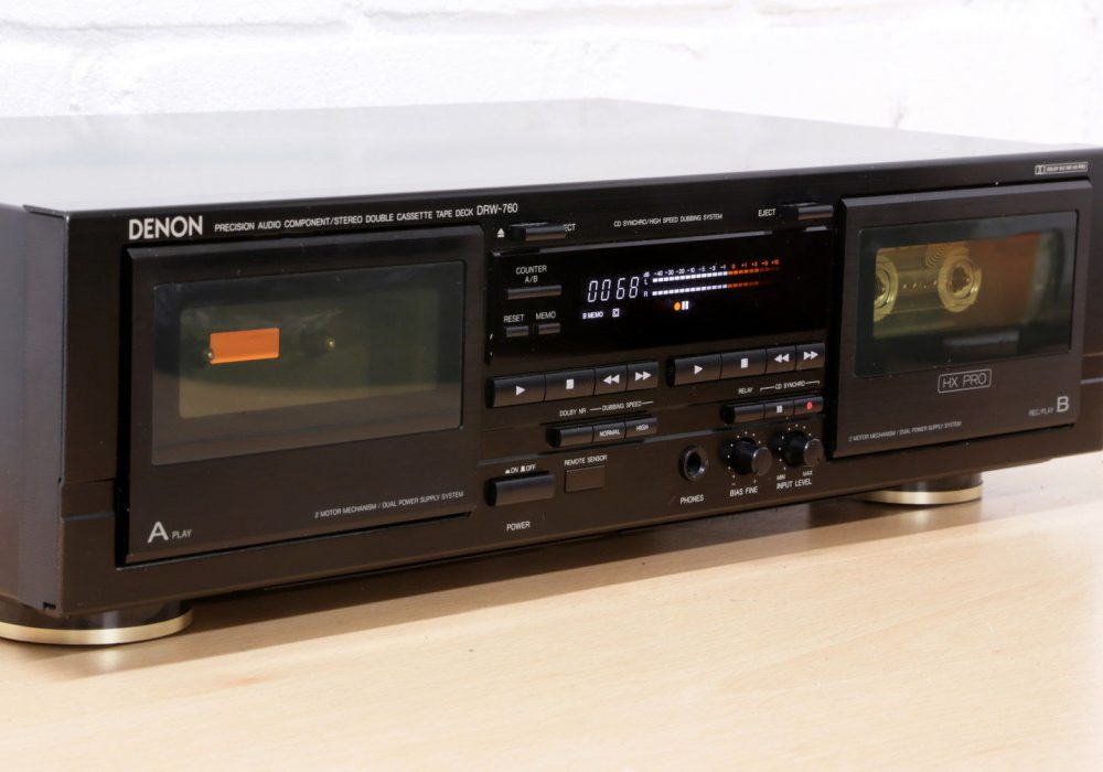 天龙 DENON DRW-760 双卡座