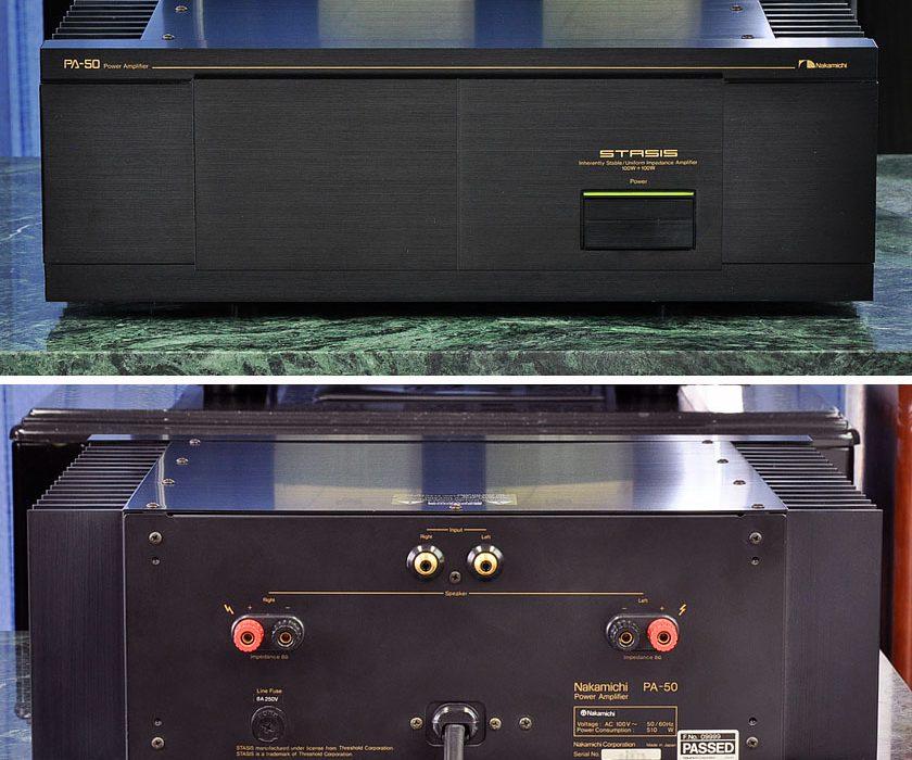 中道 Nakamichi PA-50 后级功率放大器