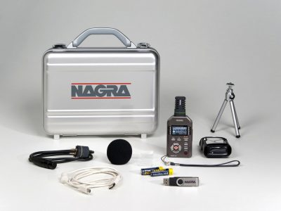 Nagra SD case and contents