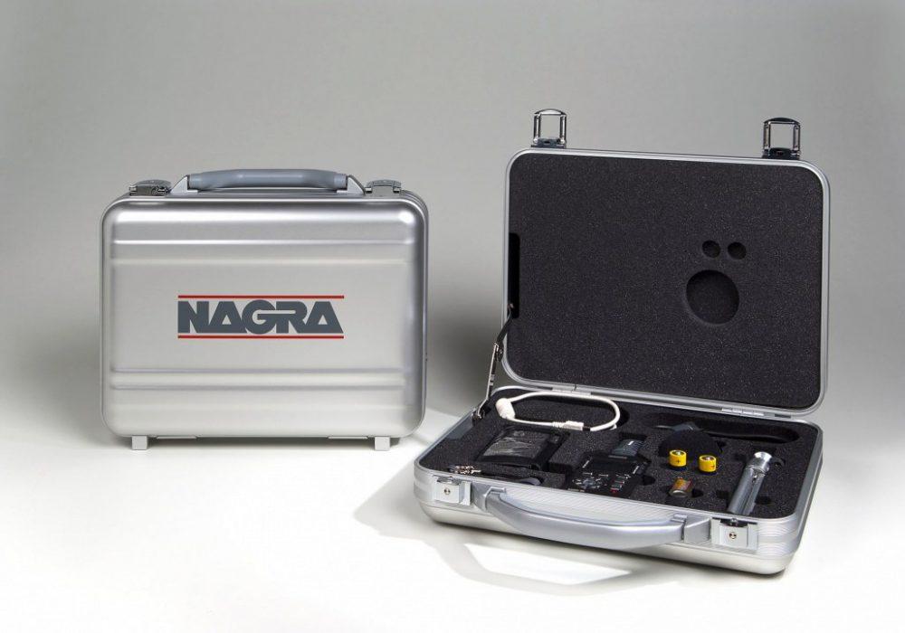 Nagra SD in case