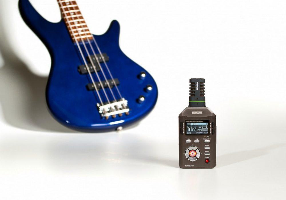 Nagra SD with bass guitar