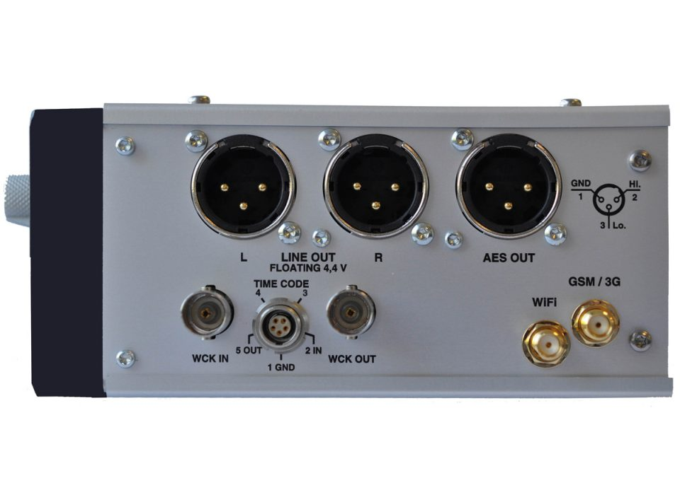 Nagra Seven connections right