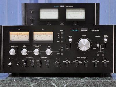 山水 SANSUI CA-3000 最高級前级放大器