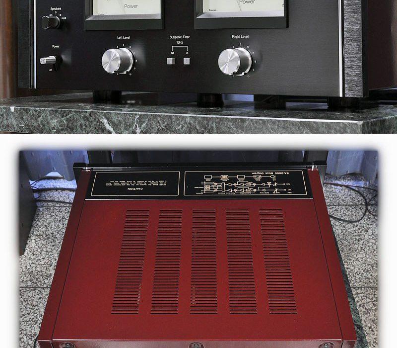 山水 SANSUI BA-3000 后级功率放大器