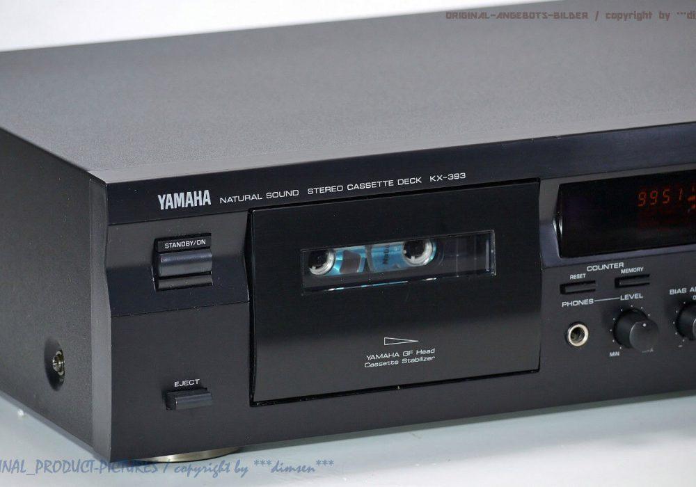 雅马哈 YAMAHA KX-393 立体声卡座