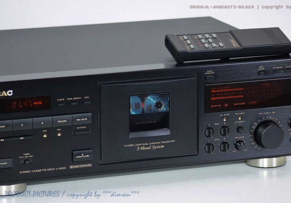 TEAC V-5000 三磁头立体声卡座
