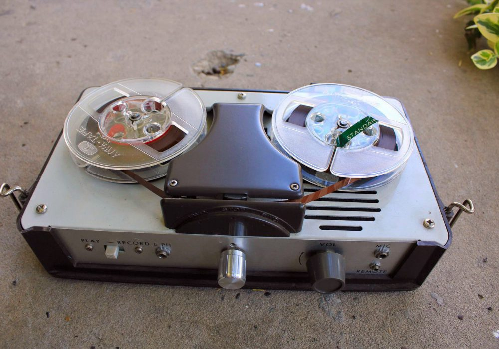 爱华 AIWA TP-32a 古董便携式 开盘录音机