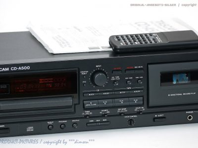 TASCAM CD-A500 Studio CD/卡座 一体机