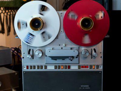 STUDER B67 专业电台版两轨开盘机