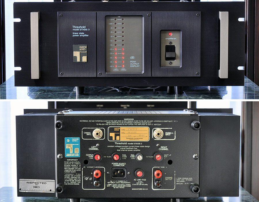 Threshold STASIS 3 功率放大器