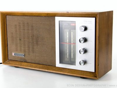 NATIONAL PANASONIC RE-7257 AM/FM 收音机
