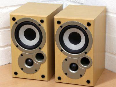 天龙 DENON SC-M50 书架音箱