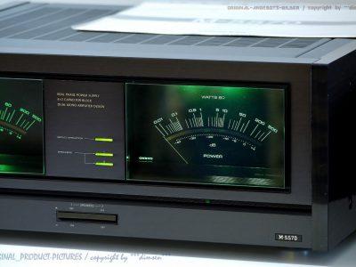 安桥 ONKYO M-5570 大表头 功率放大器