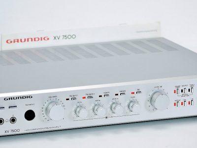 根德 GRUNDIG XV7500 前级放大器