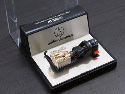 铁三角 audio-technica AT33E MC 唱头
