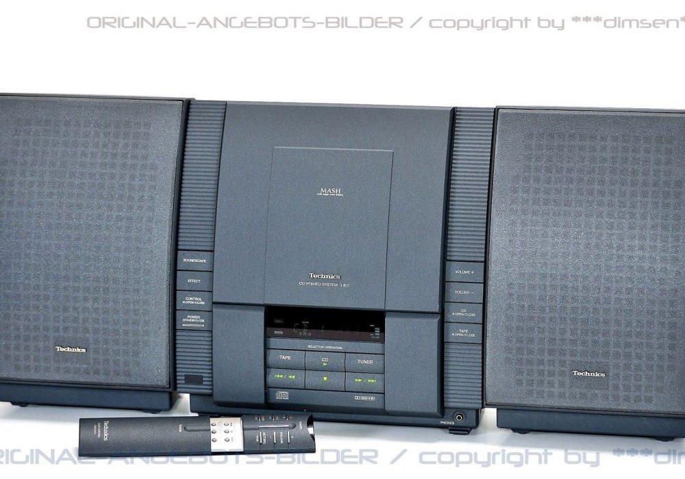 松下 Technics SC-LS10 桌面 组合音响
