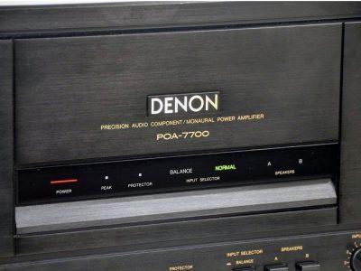 DENON POA-7700 功率放大器