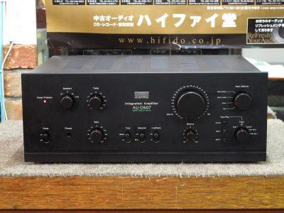 SANSUI AU-D607 功率放大器