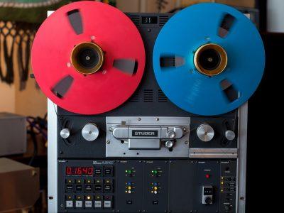 STUDER A810 BBC 顶级专业电台版2轨开盘机 - 广安经典音响
