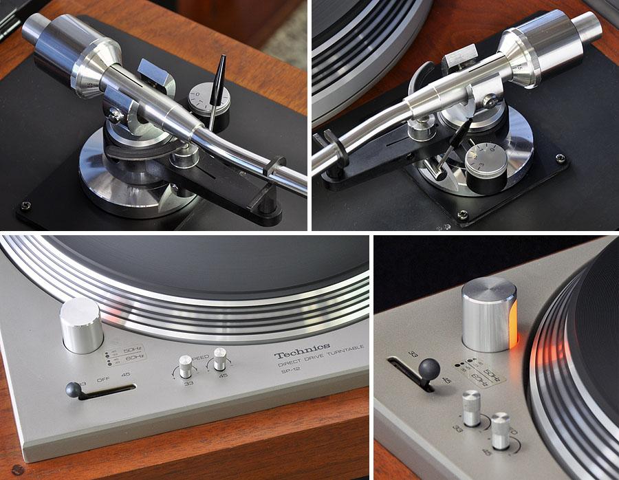 松下 Technics SP-12 黑胶唱机