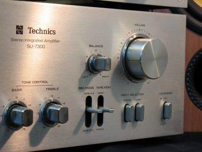 松下 Technics SU-7300 功率放大器 + SU-7600 FM/AM 收音头