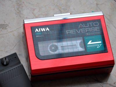 爱华 AIWA HS-P04 磁带随身听