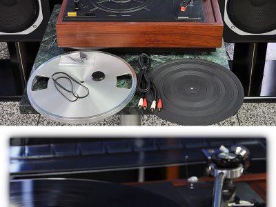 MICRO MR-611 黑胶唱机