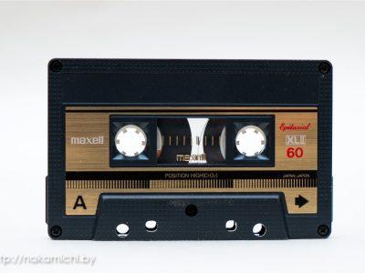 Пополнение коллекции - кассеты фирмы MAXELL