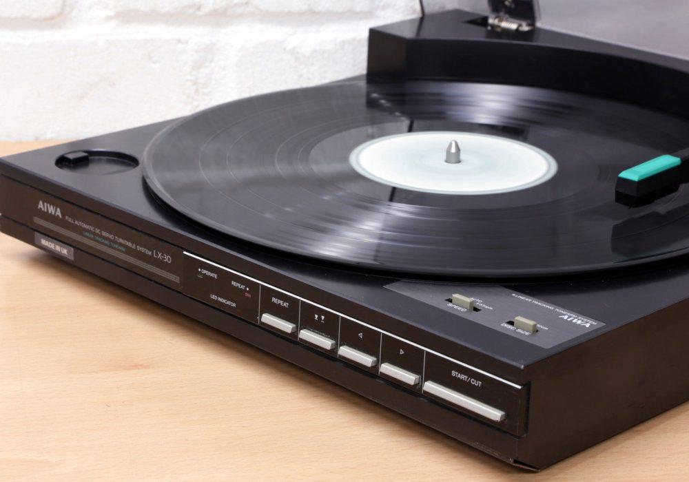爱华 AIWA LX-30 线性循迹 黑胶唱机