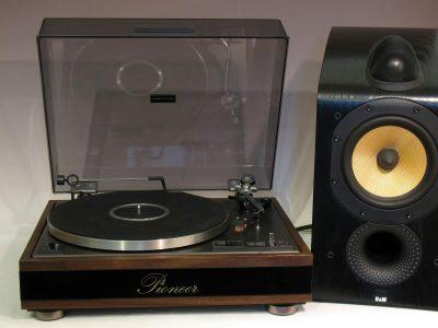 先锋 PIONEER PL12-D 黑胶唱机