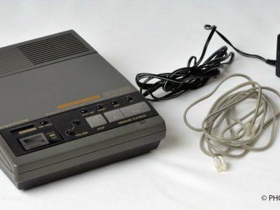 PANASONIC KX-T5101C ANSWERING MACHINE EASA-PHONE AUTO LOGIC DUAL MICRO CASSETTE