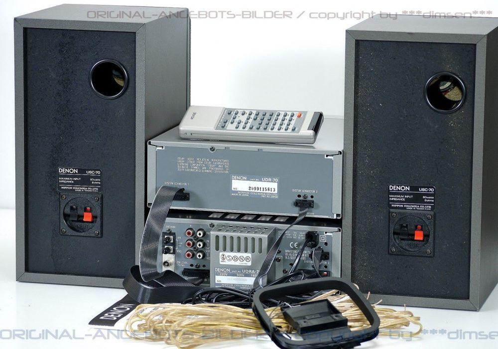 天龙 DENON D-70 组合音响(UDRA-70/UDR-70/USC-70+ RC-142)