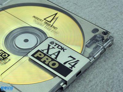 TDK XA-74 PRO MD Disc 写真