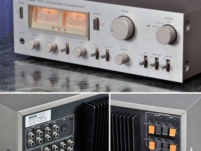 TEAC BX-550 古典功率放大器