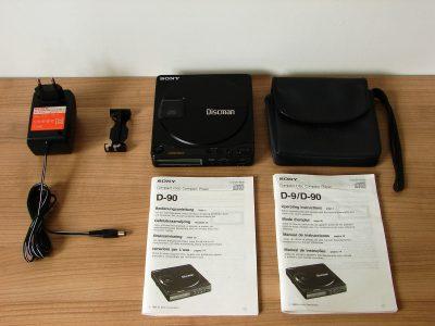 索尼 SONY D-90 Discman CD随身听